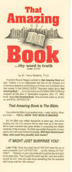 That Amazing Book - Tract