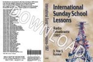 International Sunday School Lessons 1997 - Downloadable MP3