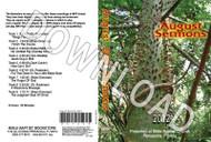 August 2012 Sermons - Downloadable MP3