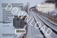November 2011 Sermons - Downloadable MP3