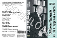 Bob Jones University vs. The Holy Bible KJV - Downloadable MP3