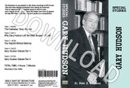 Special Study on Gary Hudson - Downloadable MP3