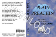 Plain Preachin' Volume 7 - Downloadable MP3