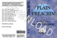 Plain Preachin' Volume 10 - Downloadable MP3