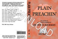 Plain Preachin' Volume 18 - Downloadable MP3