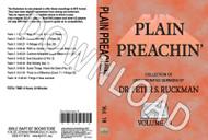 Plain Preachin' Volume 18 - Downloadable MP3