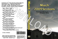 March 2009 Sermons - Downloadable MP3