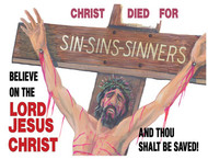 Full Color Scripture Sign - Sins and Eternity