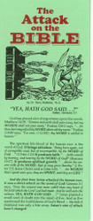 The Attack on the Bible - Tract