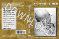 November 2014 Sermons - Downloadable MP3