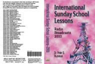 International Sunday School Lessons 2000 - MP3