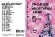 International Sunday School Lessons 2003 - MP3