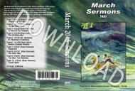 March 2015 Sermons - Downloadable MP3