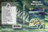 March 2015 Sermons - Downloadable MP3