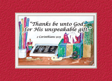 cover - Christmas Card Scripture