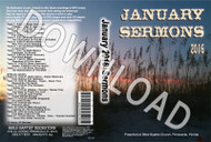 January 2016 Sermons - Downloadable MP3