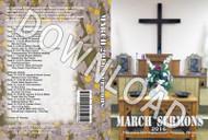 March 2016 Sermons - Downloadable MP3