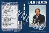 April 2016 Sermons - Downloadable MP3