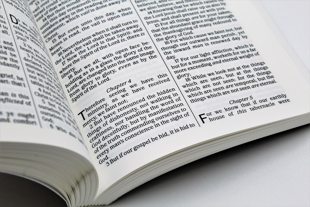 KJV Waterproof Bible - New Testament, Psalms & Proverbs