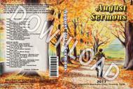 August 2017 Sermons - Downloadable MP3