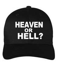 Scripture Hat - Heaven or Hell (black)