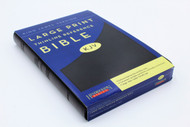 Hendrickson Bible: Large Print Thinline Reference Edition Bible