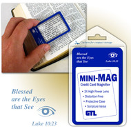 Mini-Mag Credit Card Magnifier