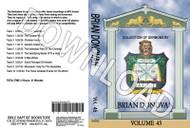 Brian Donovan: Sermons, Volume 45 - Downloadable MP3
