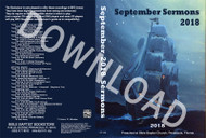 September 2018 Sermons - Downloadable MP3