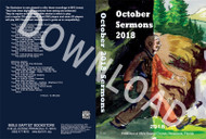 October 2018 Sermons - Downloadable MP3