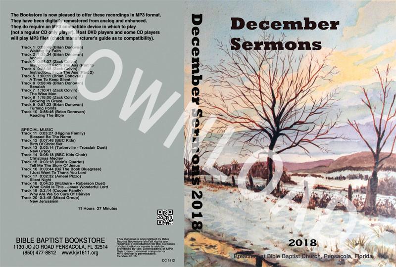 December Sermons