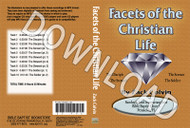 Zack Colvin: Facets of the Christian Life - Downloadable MP3