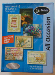 All Occasion Greeting Cards (48-pack)