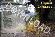 August 2019 Sermons - Downloadable MP3