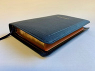 Allan Oxford Bible: Brevier Clarendon Edition Bible #7C (Navy Blue)