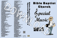 2019 Bible Baptist Church Special Music - Downloadable MP3