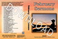 February 2020 Sermons - Downloadable MP3