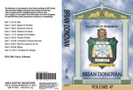 Donovan Sermons on MP3 - Volume 47