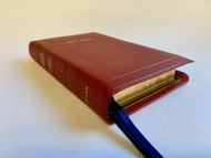 Allan Oxford Bible: Brevier Clarendon Edition Bible #7C R (Red)