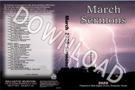 March 2020 Sermons - Downloadable MP3