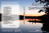 April  2020 Sermons - MP3