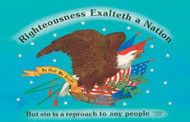 Righteousness Exalteth A Nation - Magnet