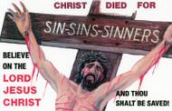 Sin, Sins, Sinners - Postcard
