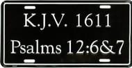 K.J.V. 1611 - License Plate