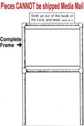 Complete Frame for Scripture Sign