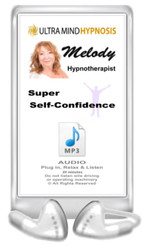 Simply plug in, relax & listen to enjoy the benefits of the hypnotic suggestions of this ' Super-Self-Confidence' MP3 by Melody - 20 minutes ... Please do not listen to while driving or operating machinery. Copyright - All rights reserved.