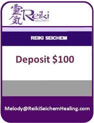 Reiki Course Deposit $100