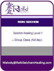 Seichim Healing Level 1 – Group Class (full day)