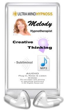 Simply plug in, relax & listen to enjoy the benefits of subliminal hypnotic suggestions with this 'Creative Thinking' MP3 - 60 minutes ... Please do not listen to while driving or operating machinery. Copyright - All rights reserved.