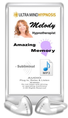 Simply plug in, relax & listen to enjoy the benefits of subliminal hypnotic suggestions of this 'Amazing Memory' MP3 - 60 minutes ... Please do not listen to while driving or operating machinery. Copyright - All rights reserved.